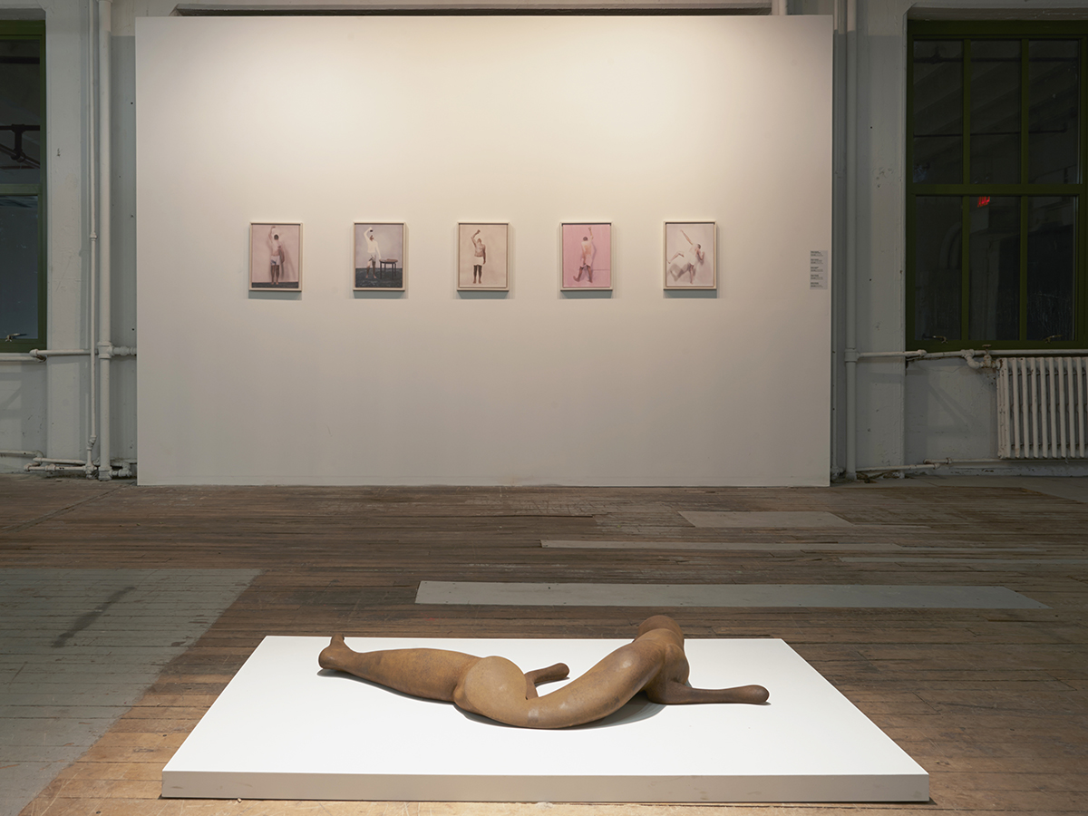 Rona Pondick and Robert Feintuch. Installation view.