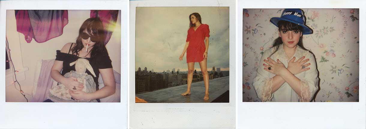 "Emma Bee Bernstein, ""Untitled,"" (Unique Color Polaroids), 2003-2007"