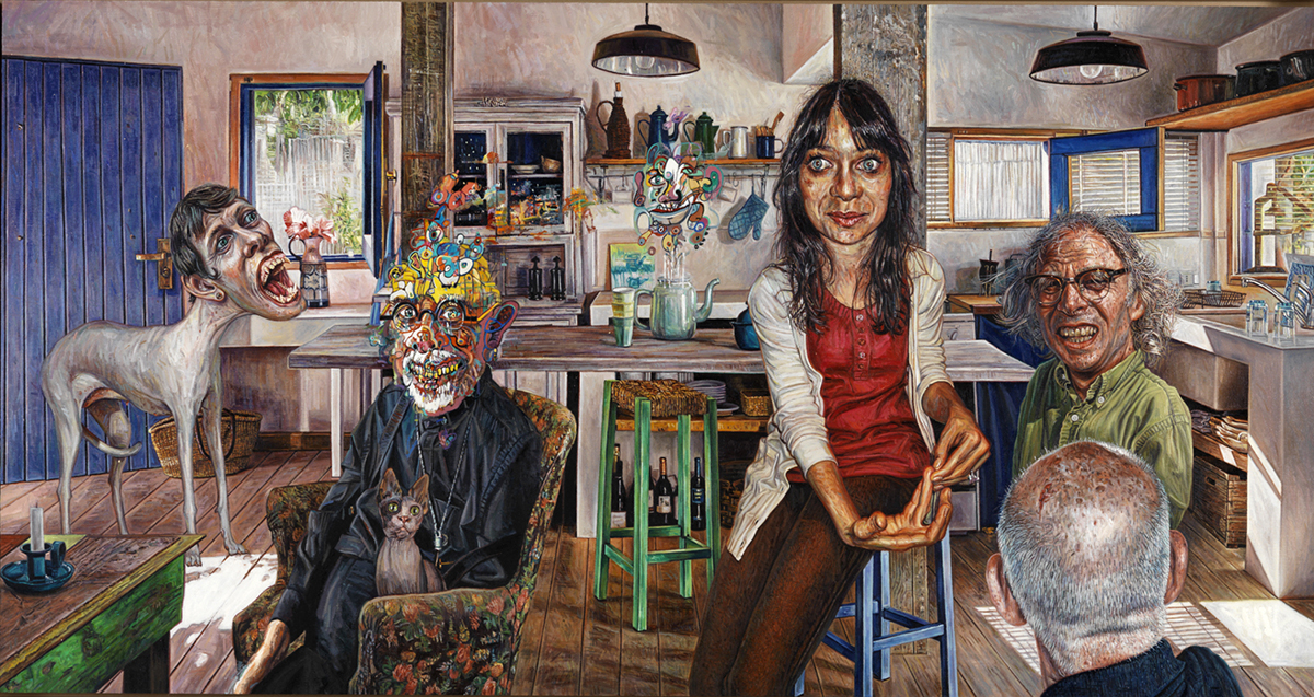 "Mark Greenwold, ""The Banker's Daughter,"" 2009-10."
