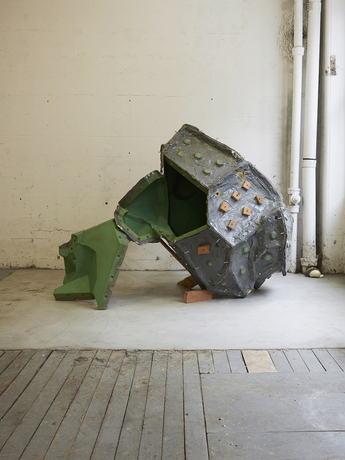 "Michael Joo, ""Untitled (Herkimer Unfolded),"" 2009."