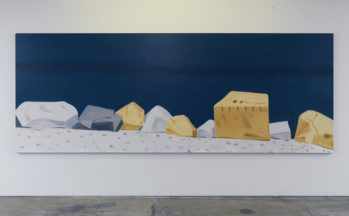 """Alex Katz, """"Rocks,"""" 2011."""