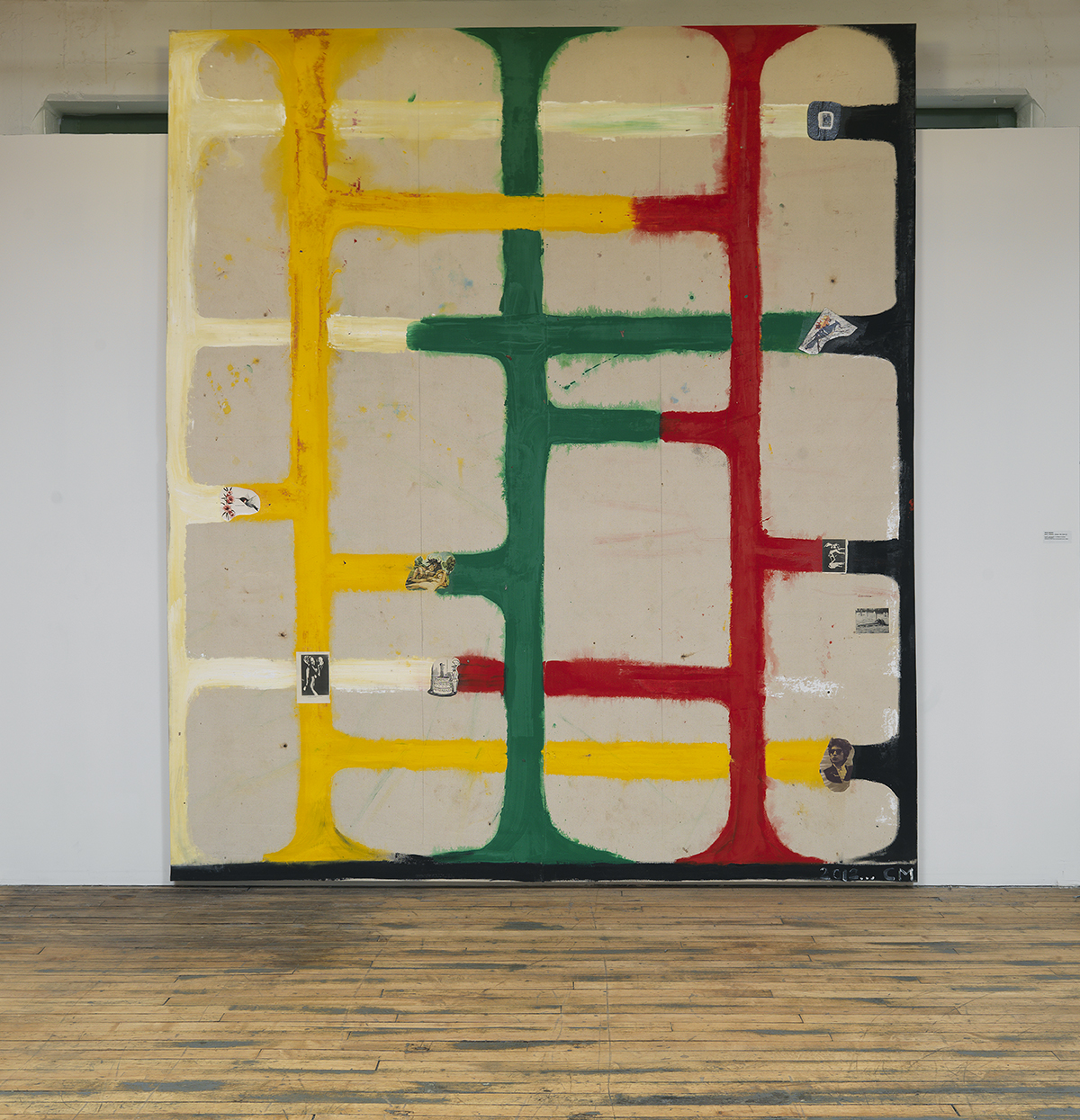 "Chris Martin, ""Red, Yellow, Green #2,"" 2012."