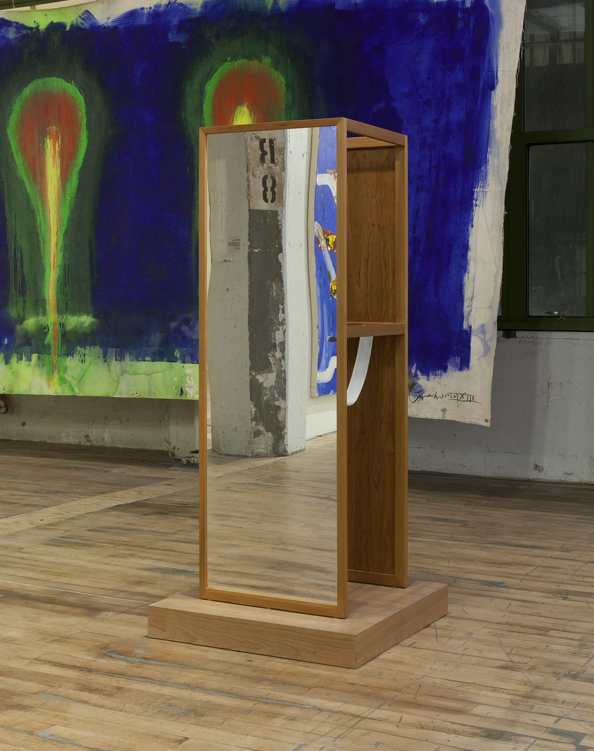 "Josiah McElheny, ""Walking Mirror 1,"" 2012."