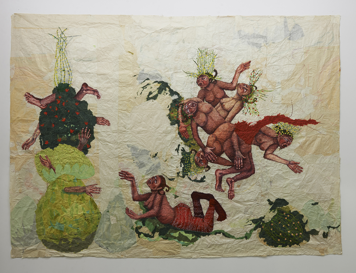 "Jennifer Nuss, ""The Battle at Goat Island,"" 2004."