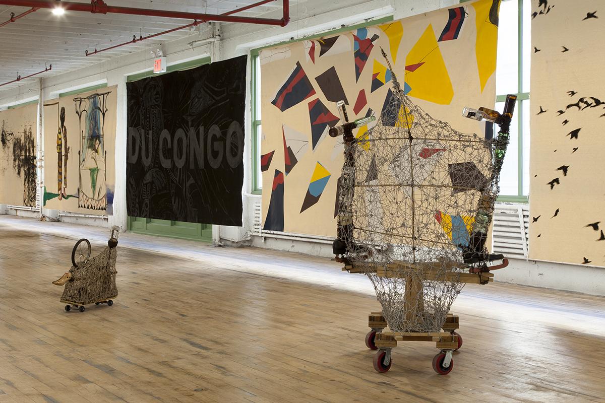 Arthur Simms, installation image.