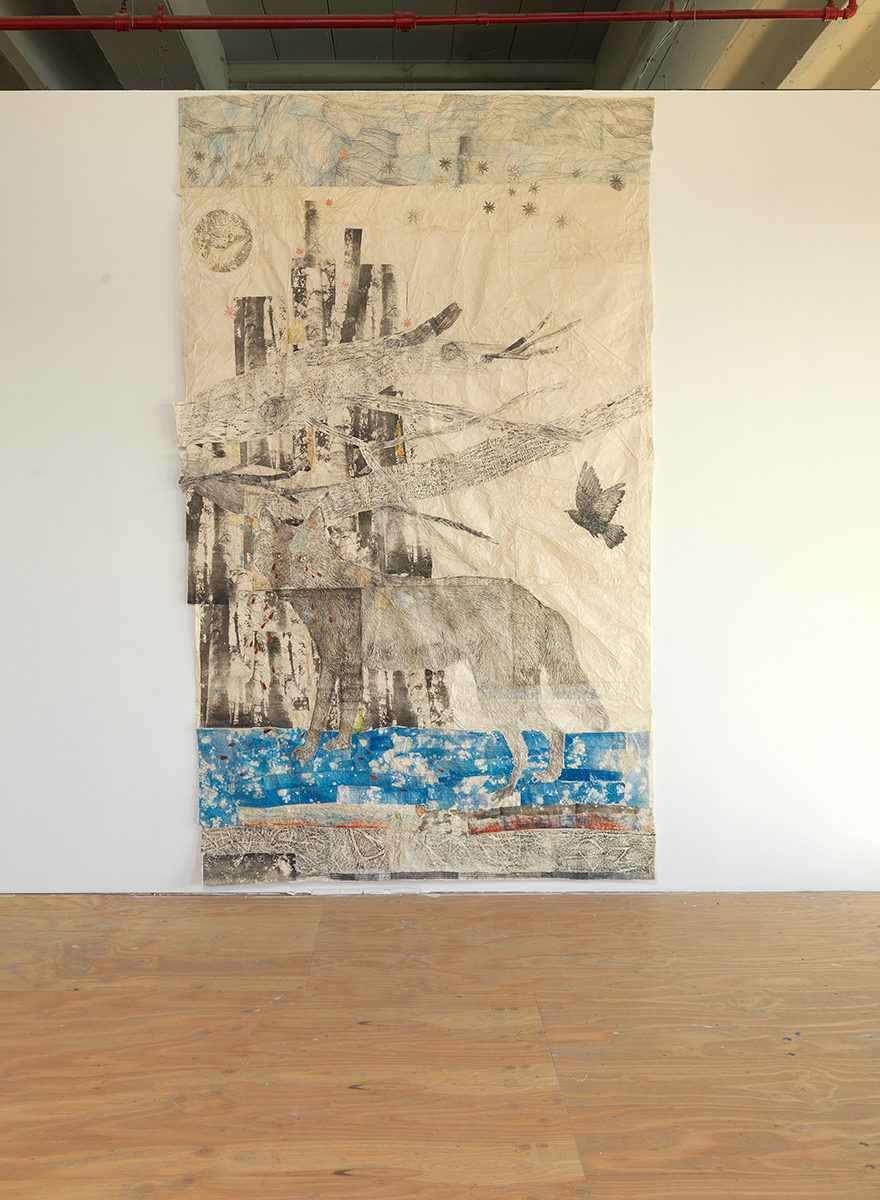"Kiki Smith, ""Cathedral,"" 2012."