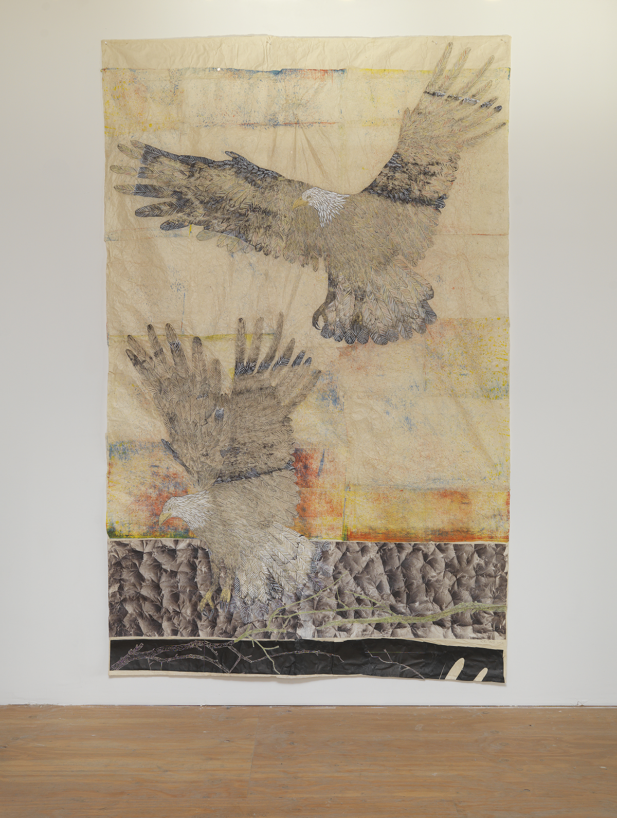 "Kiki Smith, ""Guide,"" 2012."