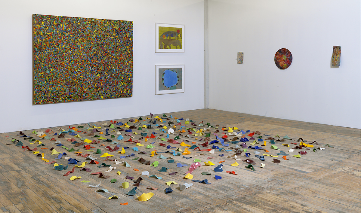 Tom Nozkowski and Joyce Robins, installation image.
